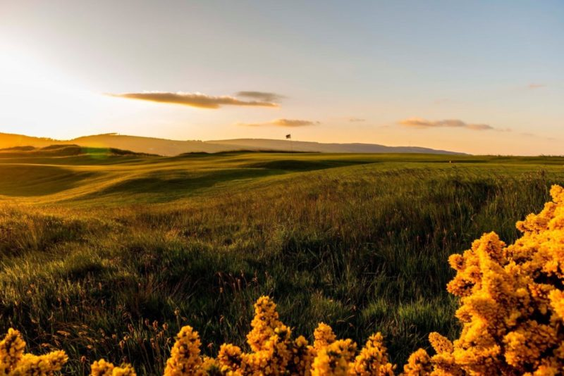 Fortrose Golf Club links golf by authentic golf
