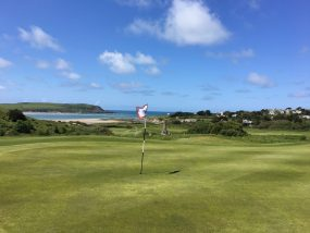 links golf of Cornwall coast by authentic golf