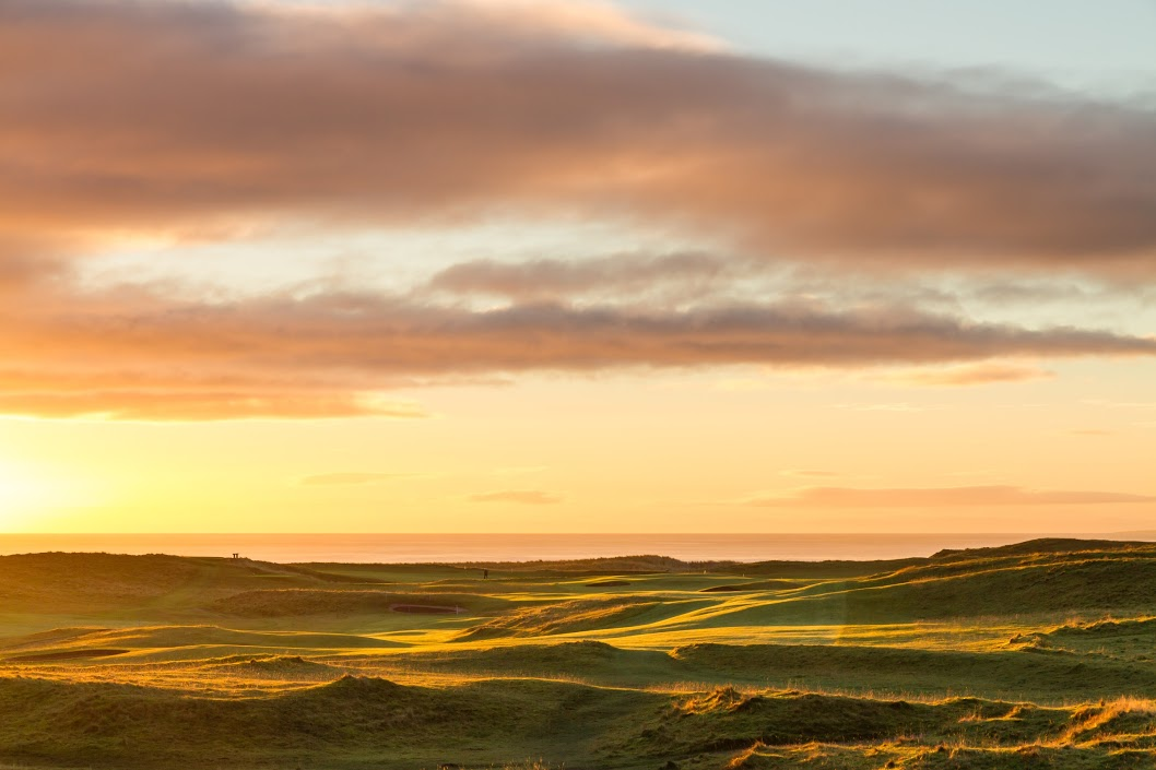Brora links golf by Authentic golf