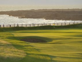 Links golf in Wales by authentic golf
