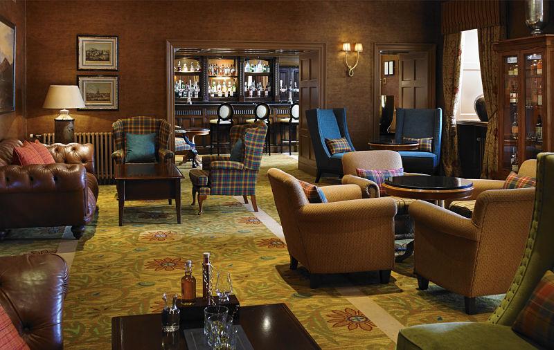 Dalmahoy Golf Hotel by Authentic golf, whisky Bar