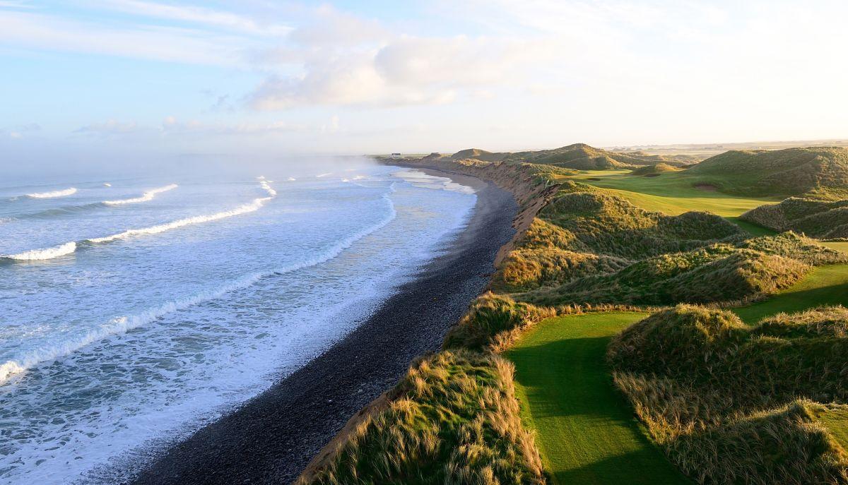 Doonbeg links golf by Authentic golf